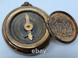 1893 E. N. Welch Columbian Exposition Chicago World's Fair Souvenir Pocket Watch
