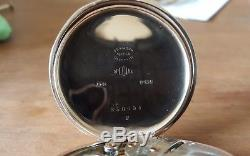 1926 Full Size Antique Solid 9ct Gold Waltham 17 Jewelled Pocket Watch in GWO