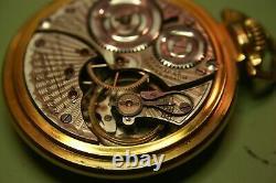 23J Illinois Bunn Special 16s pocket watch
