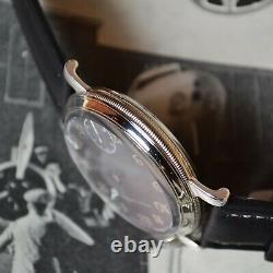 43mm antique Rolex military pilots watch for drivers vintage mens chronometer