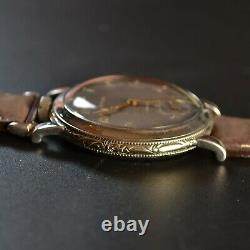 45mm antique Rolex Marconi military pilots watch vintage mens chronometer