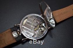 48mm Rolex antique mens military trench watch vintage timepiece