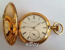 ANTIQUE AUTHENTIC TIFFANY & CO GENEVE CHRONOMETER POCKET WATCH 51mm 18K GOLD
