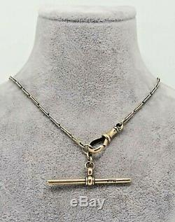ART DECO 1920s 9K GOLD POCKET WATCH CHAIN TWO TONED RARE COLLACTABLE UNUSUAL