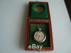 A. LANGE & SÖHNE GLASHÜTTE U-boat Submarine chronometer deck watch cal. 48 in box