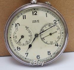 A. Lange & Sohne Veb Glashutte Antique Silver 0.900 Pocket Watch