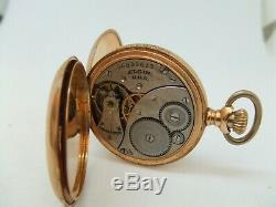 Antique14k solid gold elgin pocket watch