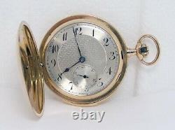 Antique 14k Gold VULCAIN MINUTE REPEATER Hunter Pocket Watch Parts-Restoration