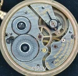 Antique 16Size 992 Hamilton 21J Railroad Grade Pocket Watch Runs 20Y Gold Filled