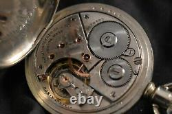 Antique 16s American Waltham non-magnetic 16j Pocket Watch, Model 1888