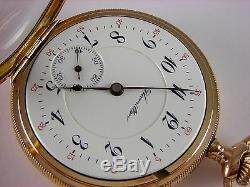 Antique 16s Hamilton 954 hi grade 17j pocket watch. 1913. Nice gold filled case