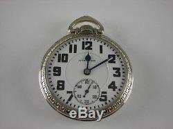 Antique 16s Hamilton 992 Rail Road pocket watch. Made 1930, With Original Box