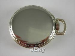 Antique 16s Illinois 60 hour Bunn Special 21 Ruby jewels Rail Road pocket watch