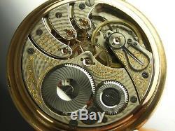 Antique 16s Rockford 17 jewel Winnebago Rail Road pocket watch. Made 1907
