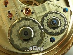 Antique 16s Waltham 16 jewel Am'n Watch Co. Grade model 1872 pocket watch