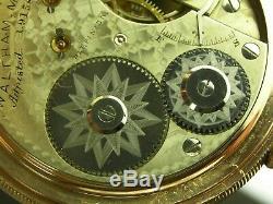 Antique 16s Waltham model 1872 AM Grade 15 jewel pocket watch. Runs great! Nice