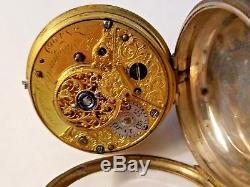 Antique 1765 Silver VERGE FUSEE Pocket Watch, James Shrapnell, London