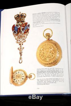Antique 18K Gold Pocket Watch. Spain Royal Shield. Havana Switzerland. 1910
