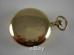 Antique 18s E. Howard 15 jewels Series VIII Gold Filled pocket watch. Made 1890