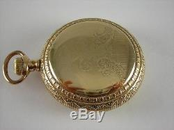 Antique 18s Illinois Bunn Special 24 Ruby jewels Rail Road pocket watch. 1897