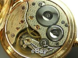 Antique 18s Omega 21 jewel Canadian Railway pocket watch. Gold Filled. 1905
