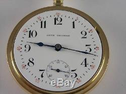Antique 18s Seth Thomas 21 jewel High grade pocket watch. Gold filled. Made 1890
