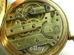 Antique 18s Vacheron & Constantin high grade 20 jewels pocket watch. Gold filled