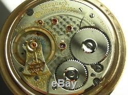 Antique 18s Waltham Vanguard 21 jewel Canadian Rail Road pocket watch. Made 1901
