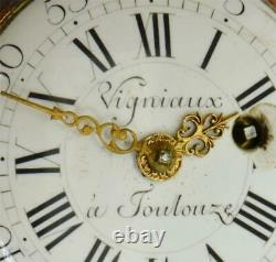 Antique 18th C. French Vigniaux, Toulouze Verge Fusee pocket watch. Ottoman market