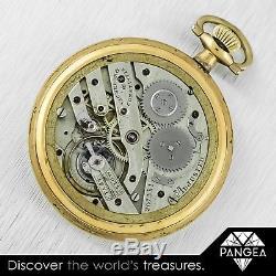Antique 1905 Vacheron & Constantin Gold Filled Pocket Watch 267351 44mm