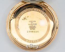 Antique 1912 16s 21j Adj. E. Howard Watch Co. Series 11 Railroad Chronometer