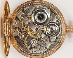 Antique 1912 16s E. Howard Watch Co. Series 0 23j Pocket Watch out of Estate