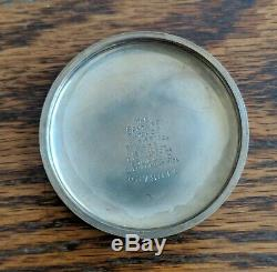 Antique, 1918 Illinois-Santa Fe Special, Pocket Watch, 21 Jewel, 100 Years Old