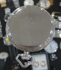 Antique 1920s GRUEN SemiThin Swiss Made 16 Jewels Pocket Watch