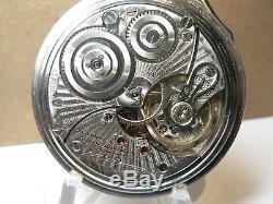 Antique 1929 16s Illinois Bunn Special 23j 60 hr RR pocket watch Near Mint