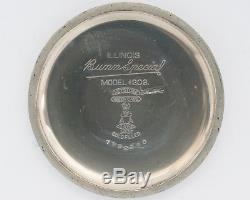Antique 1929 Illinois 16s 23j 60hr Bunn Special in Illinois Model #206 Case