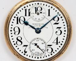 Antique 1931 Waltham 16s 23j Adjusted Vanguard with UP/DN Dial, Lossier Hairspring
