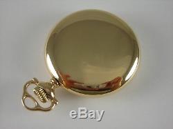 Antique 21j Ball Hamilton 16s, 999M pocket watch. Ball Gold filled case. 1914