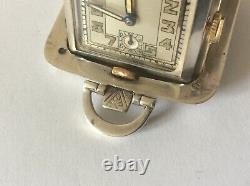 Antique Art Deco Miniature Folding Travel Purse Watch. 1935
