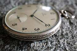 Antique Art deco Swiss OMEGA pocket watch 0.900 silver case from 1 Euro