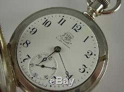 Antique Ball Hamilton 18s, 999C pocket watch, Brotherhood of Railroad Trainmen