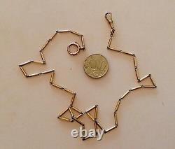 Antique Begining XX Century 11,40 Gr. 18 K. Gold Pocket Watch Chain