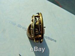 Antique French Verge Pocket Watch Movement circa 1760