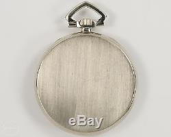 Antique Gruen 17j Ultra-Verithin Pocket Watch in 14k Gold Case out of Estate