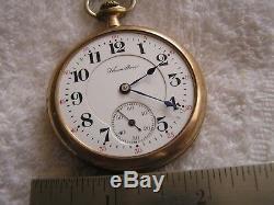Antique Hamilton Pocket Watch 21 Jewels 992