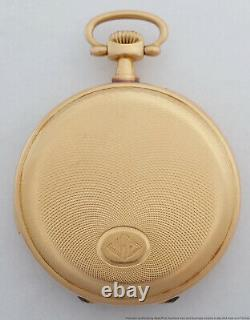 Antique Historical Patek Philippe 18k Gold 5 Minute Repeater Pocket Watch nyc