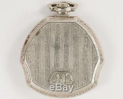 Antique Illinois 12s 23j Adjusted Pocket Watch with 14k WGF Case & Original Box