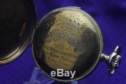 Antique J. ULLMANN & Co Chaux-De-Fonds Quarter Repeater Gold Filled Pocket watch