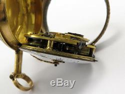 Antique LEPINE A PARIS 18k GOLD FUSEE POCKET WATCH