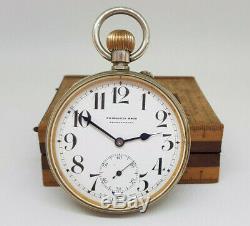 Antique Large Goliath Doxa Pocket Watch